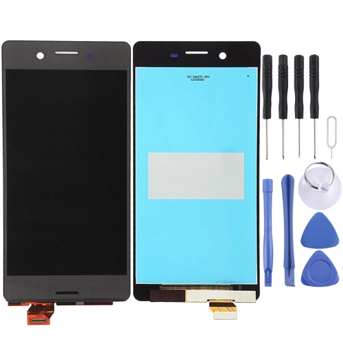 LCD Screen and Digitizer Full Assembly for Sony Xperia X(Black)