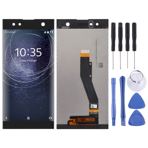 LCD Screen and Digitizer Full Assembly for Sony Xperia XA2 Ultra(Black)