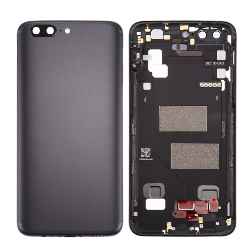 OnePlus 5 Back Cover(Black)