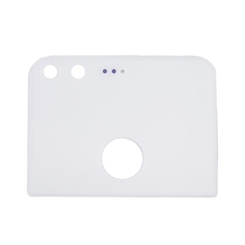 Glass Back Cover for Google Pixel / Nexus S1 (Upper Part)(White)