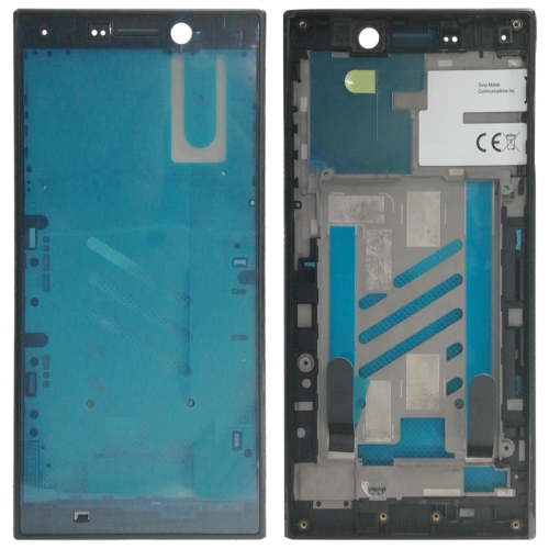 Front Housing LCD Frame Bezel for Sony Xperia L2 (Black)