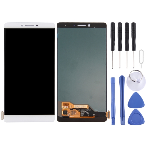 new style bbcf4 9bddc SUNSKY - For OPPO R7 Plus LCD Screen and Digitizer Full Assembly(White)