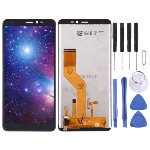 LCD Screen and Digitizer Full Assembly for Wiko Y60(Black)