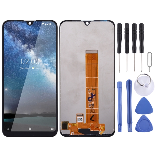 LCD Screen and Digitizer Full Assembly for Nokia 2.2 фото