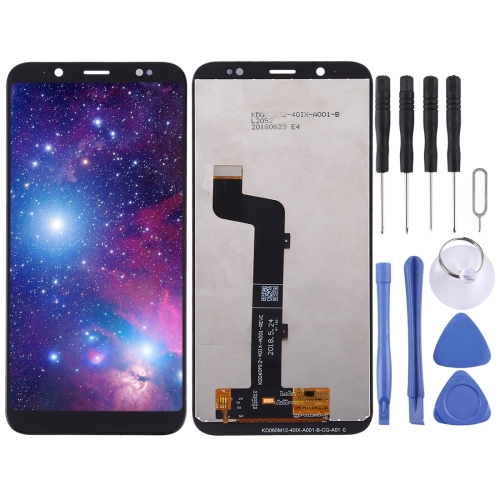 LCD Screen and Digitizer Full Assembly for HTC U12 Life (Black) фото