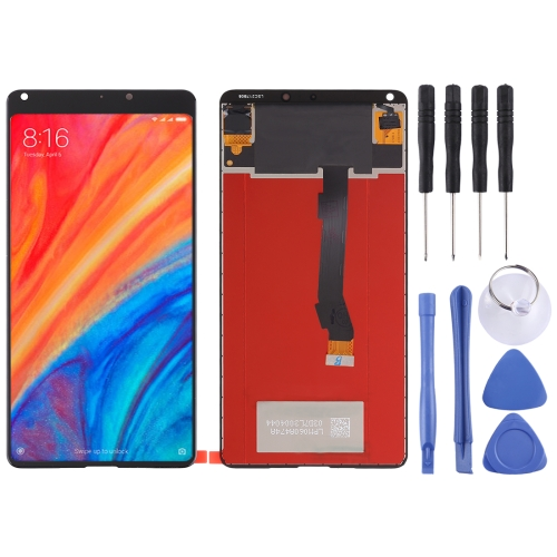 LCD Screen and Digitizer Full Assembly for Xiaomi MI Mix 2S(Black)