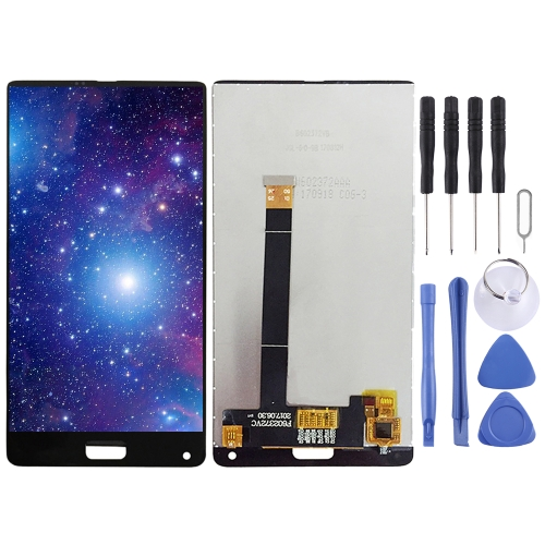LCD Screen and Digitizer Full Assembly for Elephone S8 (Black)