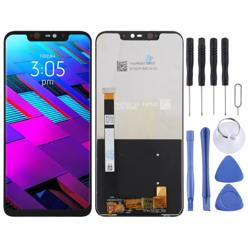 LCD Screen and Digitizer Full Assembly for BLU Vivo XI+ (Black)
