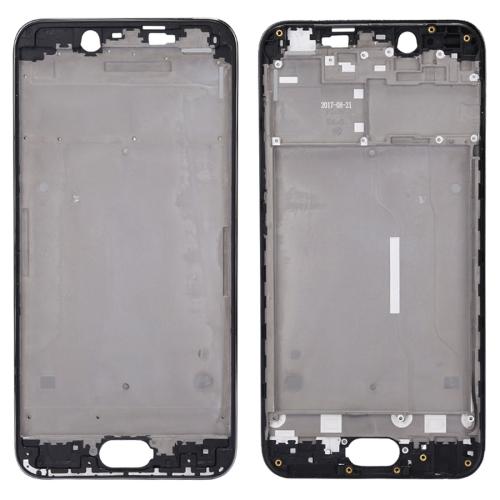 for Vivo Y67 / V5 Front Housing LCD Frame Bezel Plate(Black)