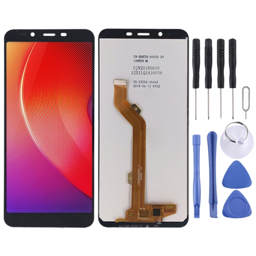LCD Screen and Digitizer Full Assembly for Tecno Infinix Smart 2 X5515 (Black)
