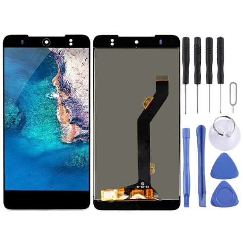 LCD Screen and Digitizer Full Assembly for Tecno Camon CX Air (Black)