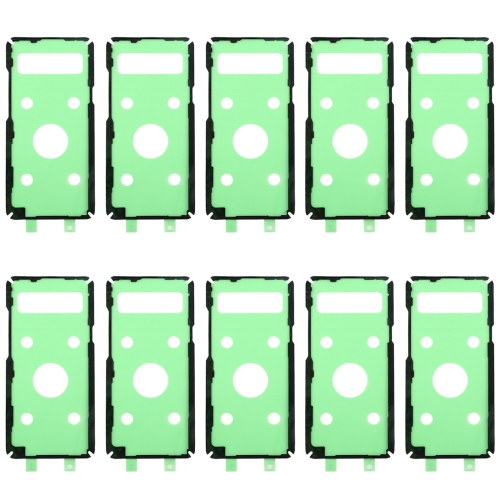 10 PCS Back Housing Cover Adhesive for Galaxy S10 5G