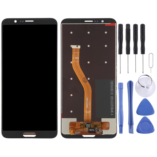 LCD Screen and Digitizer Full Assembly for Huawei Honor V10(Black) фото