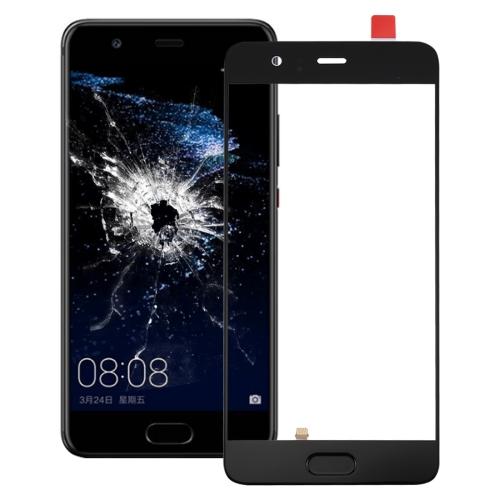 Huawei P10 Plus Front Screen Outer Glass Lens, Support Fingerprint Identification (Black)
