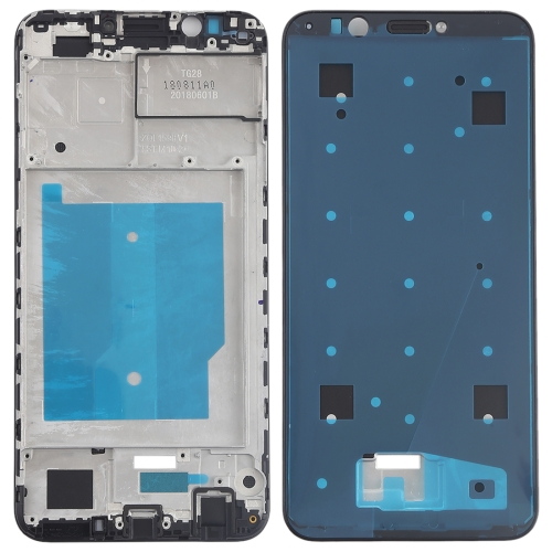 Front Housing LCD Frame Bezel for Huawei Y7 (2018) (Black)