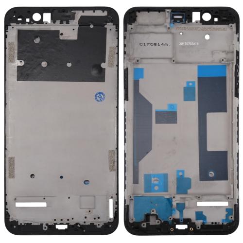 Front Housing LCD Frame Bezel Plate for OPPO R11 Plus(Black)