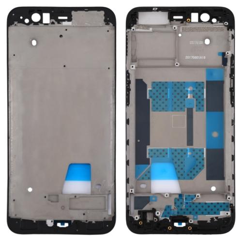 Front Housing LCD Frame Bezel Plate for OPPO R11(Black)