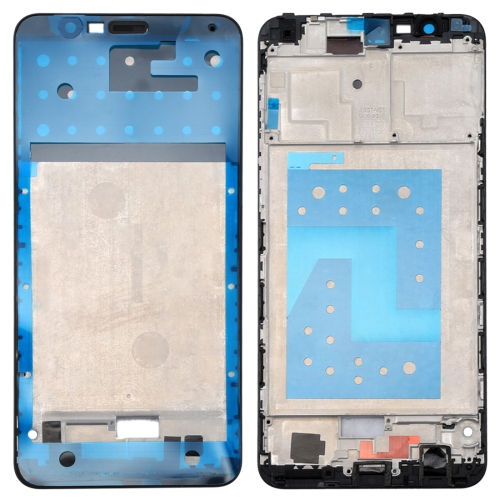 Huawei Honor Play 7X Front Housing LCD Frame Bezel Plate(Black)