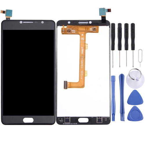 LCD Screen and Digitizer Full Assembly for Vodafone Smart Ultra 7 / VFD700(Black)