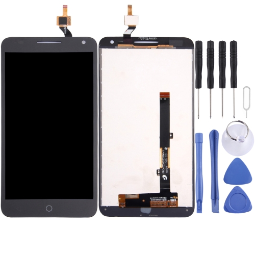 LCD Screen and Digitizer Full Assembly for Alcatel One Touch Pop 3 5.5 / 5025 (Black)
