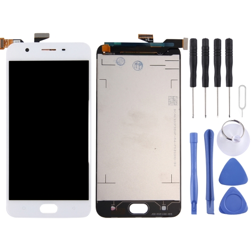 For OPPO A57 LCD Screen and Digitizer Full Assembly(White) фото