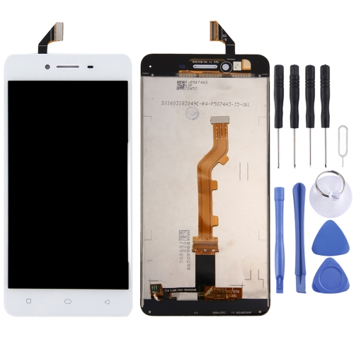 OPPO A37 LCD Screen and Digitizer Full Assembly(White)
