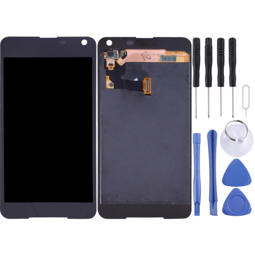 Buy iPartsBuy for Microsoft Lumia 650 LCD Screen + Touch Screen Digitizer Assembly, Black for $46.28 in SUNSKY store