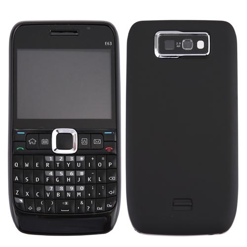 Buy iPartsBuy for Nokia E63 Full Housing Cover (Front Cover + Middle Frame Bezel + Battery Back Cover + Keyboard), Black for $4.74 in SUNSKY store