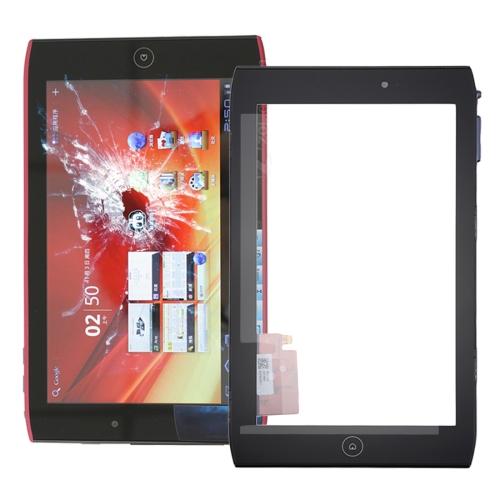 Touch Panel with Frame for Acer Iconia Tab A100 / A101 (Black)