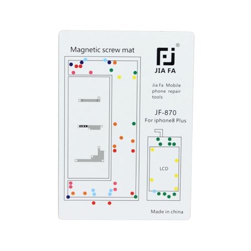 JIAFA Magnetic Screws Mat for iPhone 8 Plus