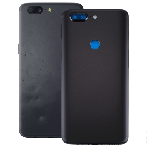 OnePlus 5T Back Cover(Black)