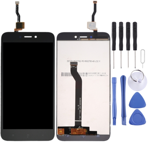 For Xiaomi Redmi 5A LCD Screen and Digitizer Full Assembly(Black)  - buy with discount