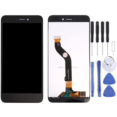 For Huawei P8 Lite 2017 LCD Screen and Digitizer Full Assembly(Black)