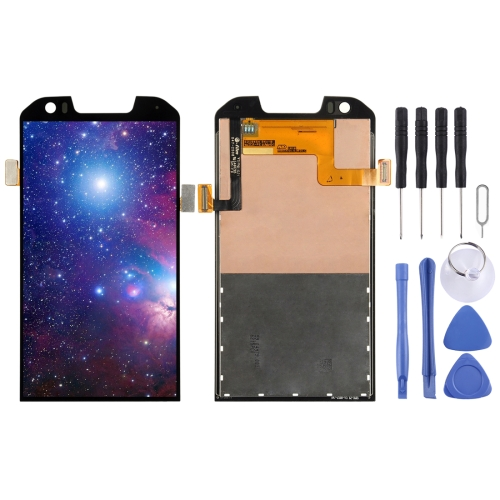LCD Screen and Digitizer Full Assembly for Caterpillar CAT S60(Black)