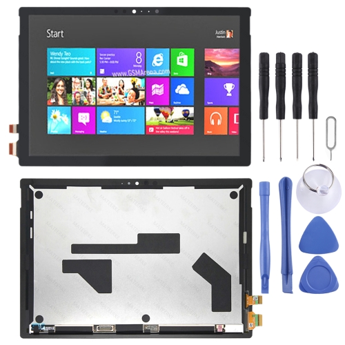 LCD Screen and Digitizer Full Assembly for Microsoft Surface Pro 6 1807 (Black) фото