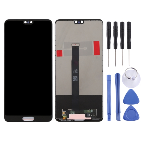 LCD Screen and Digitizer Full Assembly for Huawei P20 (Black)
