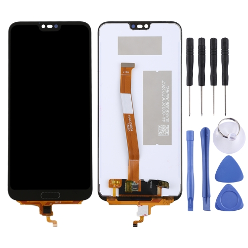 LCD Screen and Digitizer Full Assembly (Not Supporting Fingerprint Identification) for Huawei Honor 10(Black)