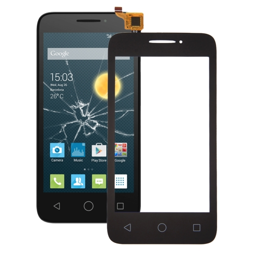Touch Panel for Alcatel One Touch Pixi 3 4.0 / 4013 (Black)