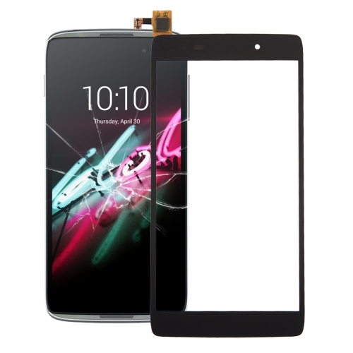 Touch Panel for Alcatel One Touch Idol 3 (4.7 inch) / 6039 (Black)