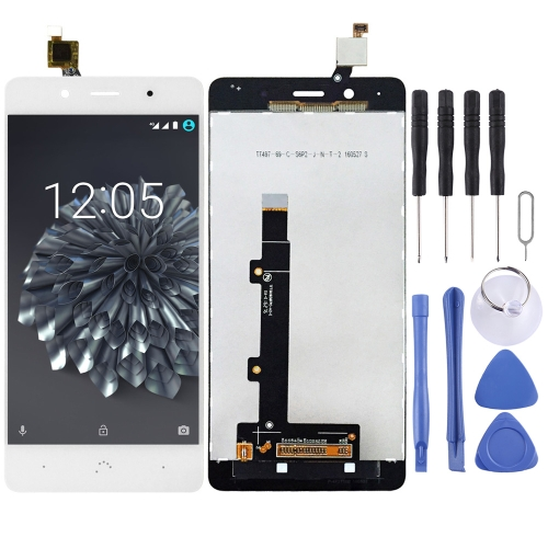LCD Screen and Digitizer Full Assembly for BQ Aquaris X5 Plus(White)