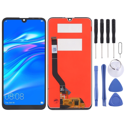 LCD Screen and Digitizer Full Assembly for Huawei Y7 Prime (2019)(Black)