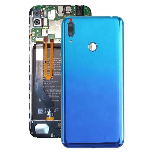 Original Battery Back Cover with Camera Lens & Side Keys for Huawei Y7 Prime (2019)(Blue)