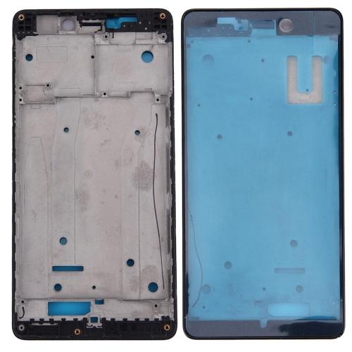 Front Housing LCD Frame Bezel for Xiaomi Redmi 3(Black)
