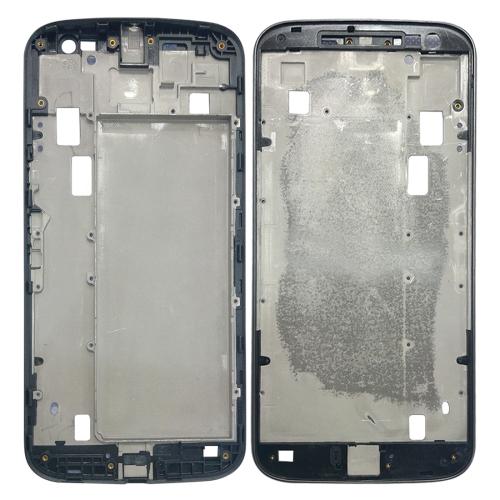 Front Housing LCD Frame Bezel for Motorola Moto G4 Plus(Grey)