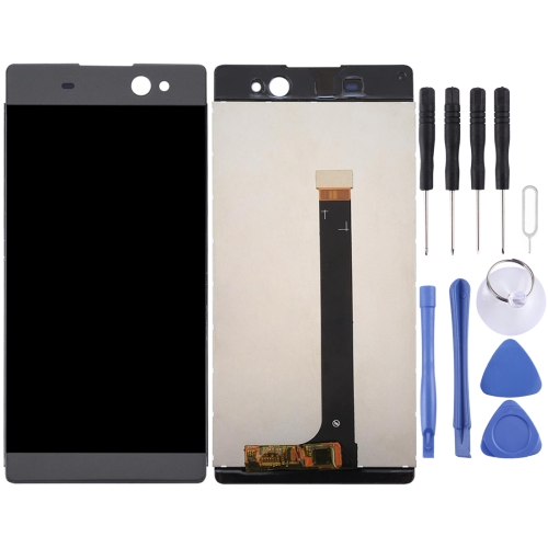 LCD Screen and Digitizer Full Assembly for Sony Xperia XA Ultra / C6 (Graphite Black)