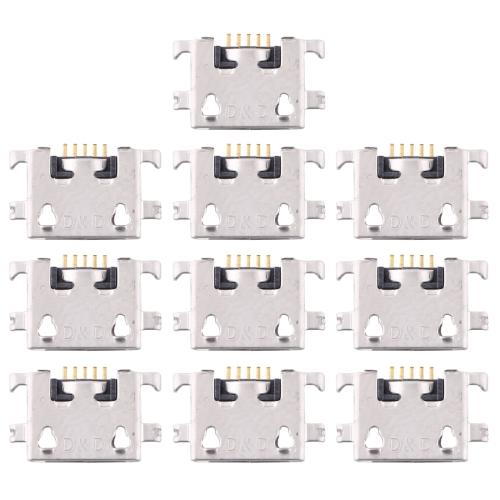 10 PCS Charging Port Connector for Xiaomi Redmi 7 / Redmi 7A фото