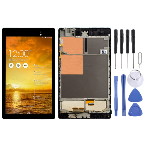 LCD Screen and Digitizer Full Assembly with Frame for Asus Nexus PAD 7 2nd ME572 ME572C ME572CL (Black) фото