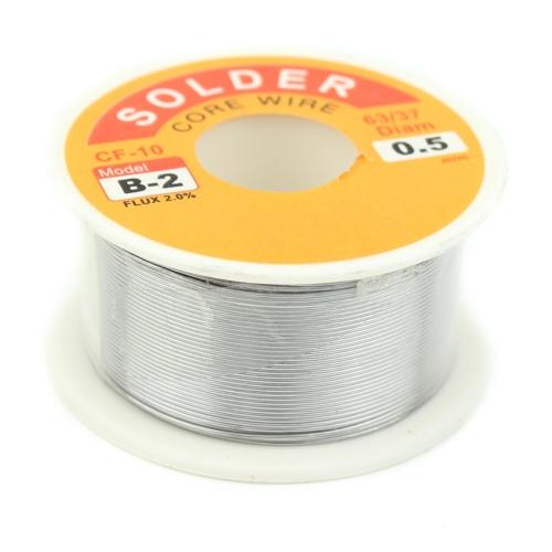 JIAFA CF-1005 0.5mm Solder Wire Flux Tin Lead Melt Soldering Wire