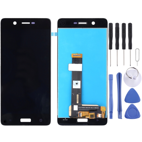 Screen + Touch Panel for Nokia 5 LCD (Black)