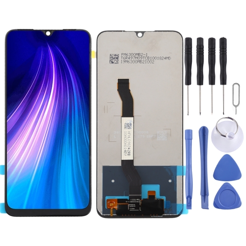 LCD Screen and Digitizer Full Assembly for Xiaomi Redmi Note 8T(Black)